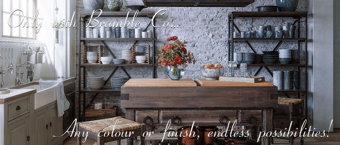 French Provincial and Hamptons Kitchen Furniture Custom Colours